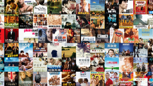 Shows a screenshot of translated films
